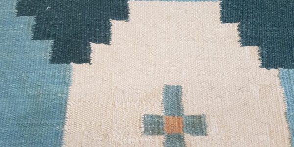after wool rug repair