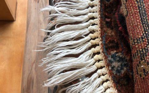 rug fringe repair